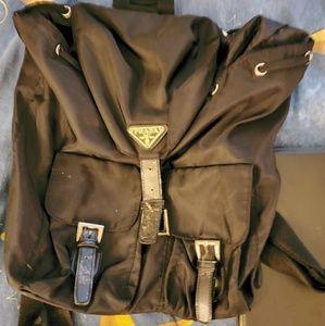 Women black mini backpack very Nice and stylish